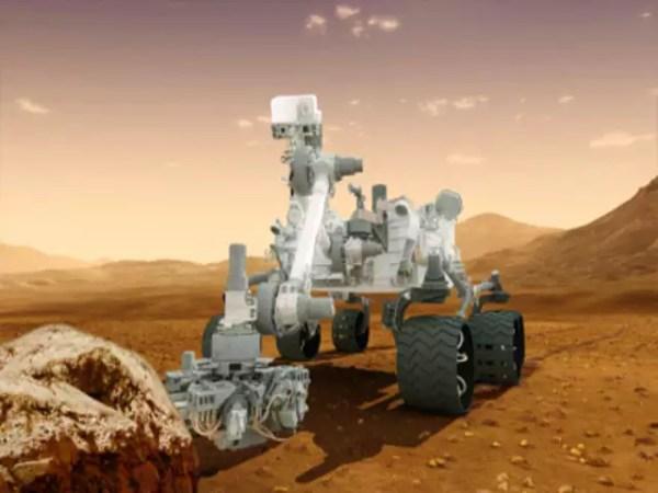 The entrance of NASAs Jet Propulsion Laboratory Mars
