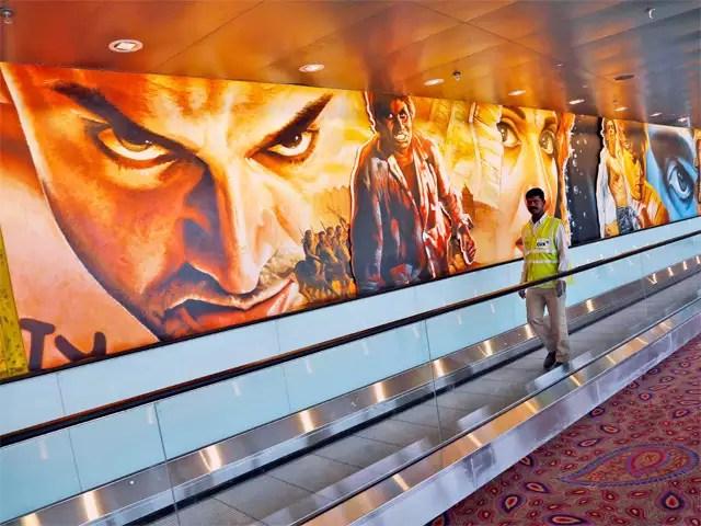 Image result for chatrapati shivaji airport mural