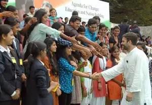 Congress Vice President Rahul Gandhi breaks security ...