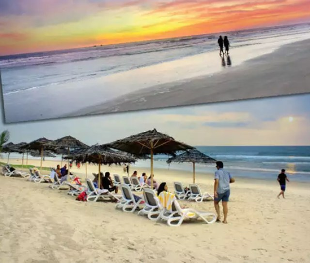 Visit Goa To Experience The Sky Changing Its Colours In The Morning And Evening But Avoid