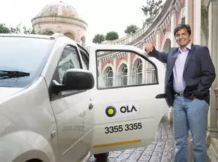 Over the past few months, Ola has aggressively stepped up the focus on differentiated India-focussed technology innovation and launch of multiple categories and consumer experience initiatives in a bid to maintain its market leadership. (In pic: Ola's co-founder, Bhavish Aggarwal)