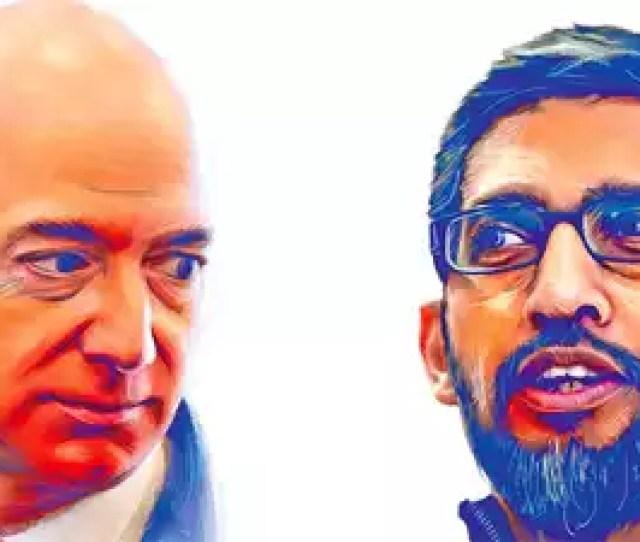 Amazon Vs Google A Race To Capture Indias Consumer Space