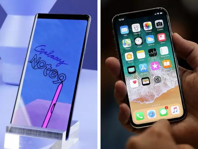 Image result for 4. Samsung Galaxy note 9.