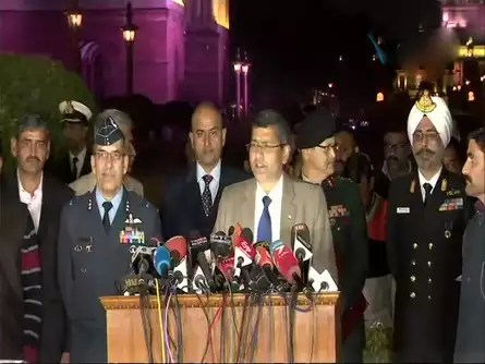 Army, Air Force and Navy speak in one voice against Pakistani misadventures