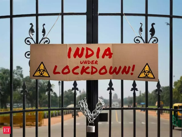 lockdown extension news: Lockdown likely to be extended till May 31 with  more relaxations - The Economic Times