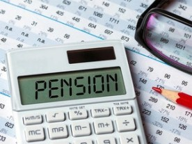 Cost structure for pension fund