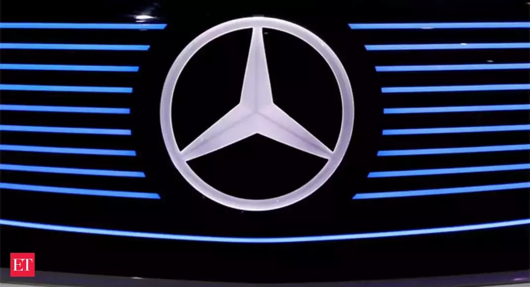 Mercedes offered five vehicles on-line on a daily basis on moderate between June-August