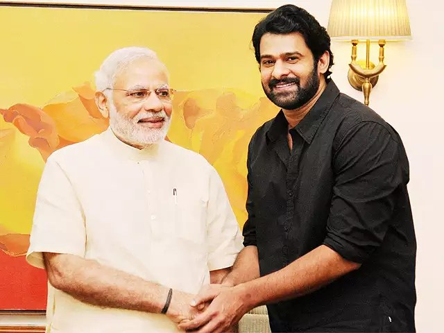 Baahubali' actor Prabhas meets PM Narendra Modi - The Economic Times