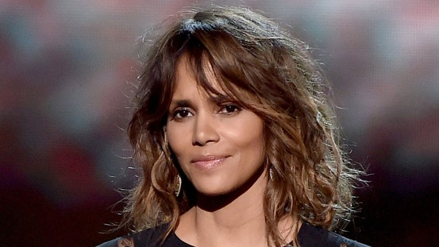 halle berry reveals new edgy, shaved-flower haircut