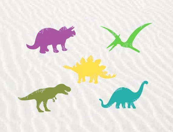 Download Dinosaur SVG File Dinosaur Cutting File Dinosaurs DXF