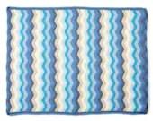 Ripple Crochet Blanket, b...