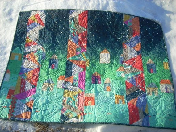 abstract story quilt pattern sheet