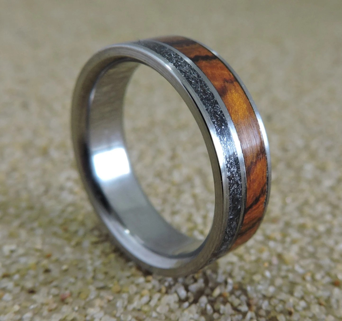 Engraved Rings For Him Great Double Name Rings Stamped