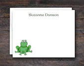 Custom Frog Note Cards fo...
