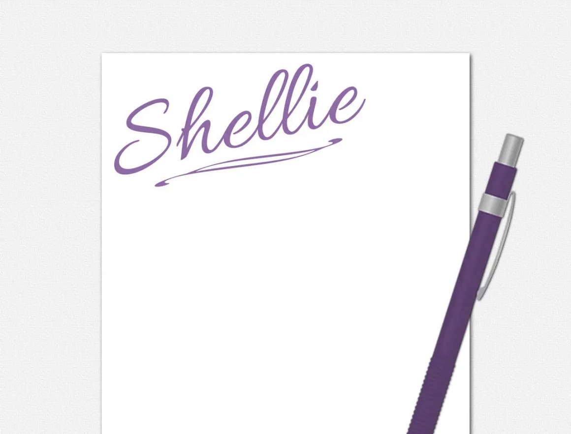 Personalized Notepad - Al...