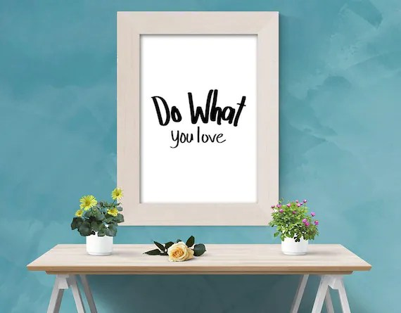 Do What You Love | Wall Art | VLHamlinDesign