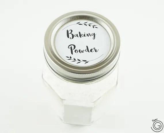 Printable Spice Labels For Jars - Download