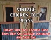 DIY Vintage Chicken Coop ...