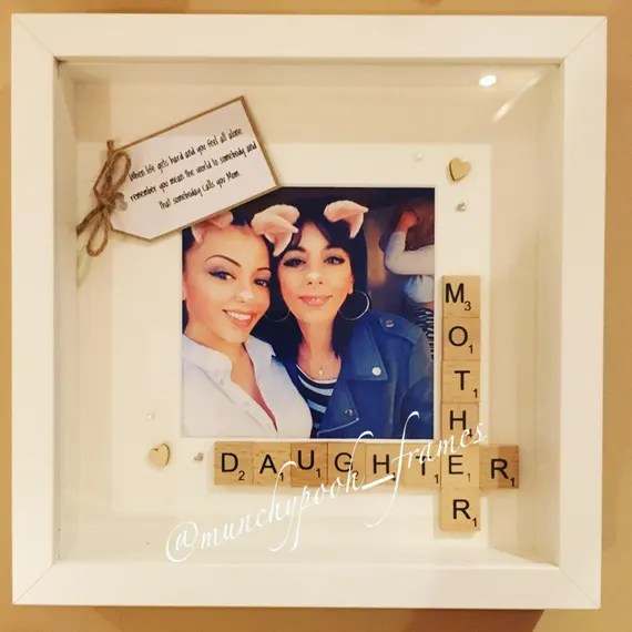 Mother and Daughter Custom Photo Frame