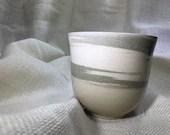 Swirled Ceramic Vase or P...