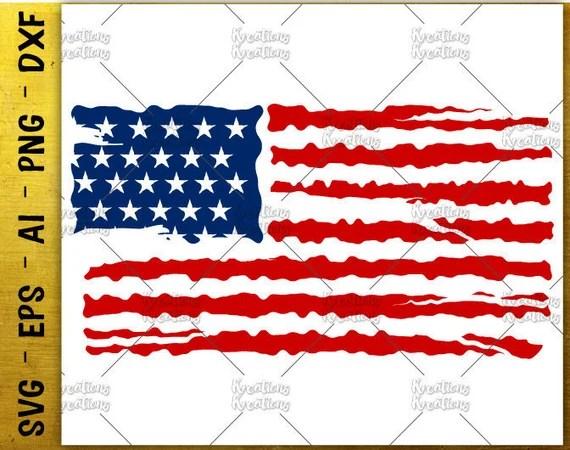 Download American Flag distress svg american flag usa flag distressed