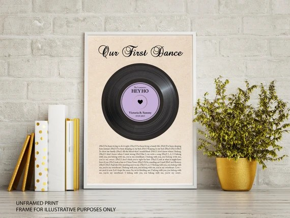 First Dance Or Your Song Print