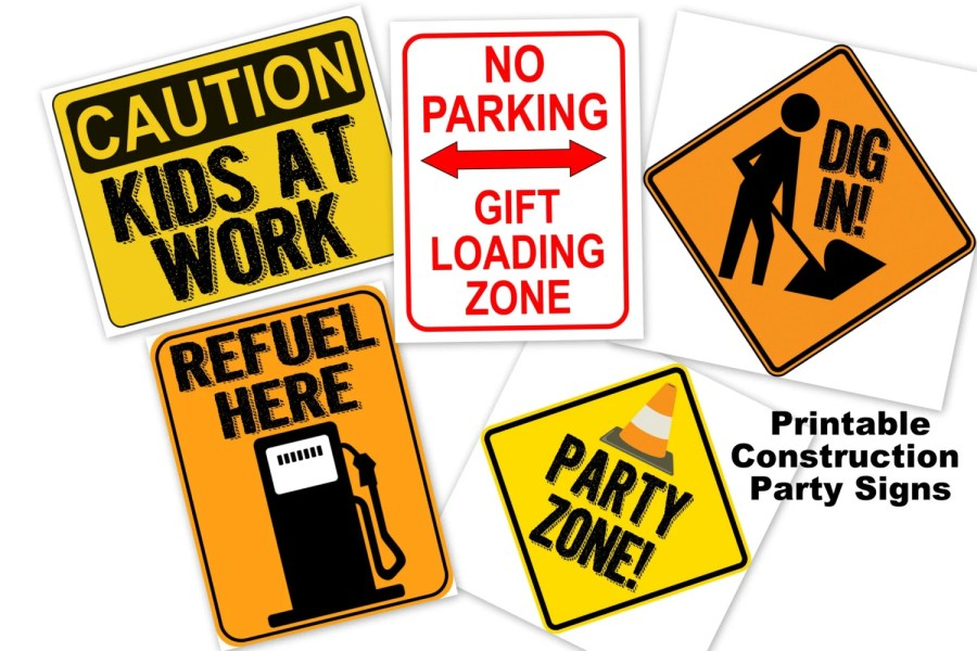 printable construction signs   Funf pandroid co printable construction signs