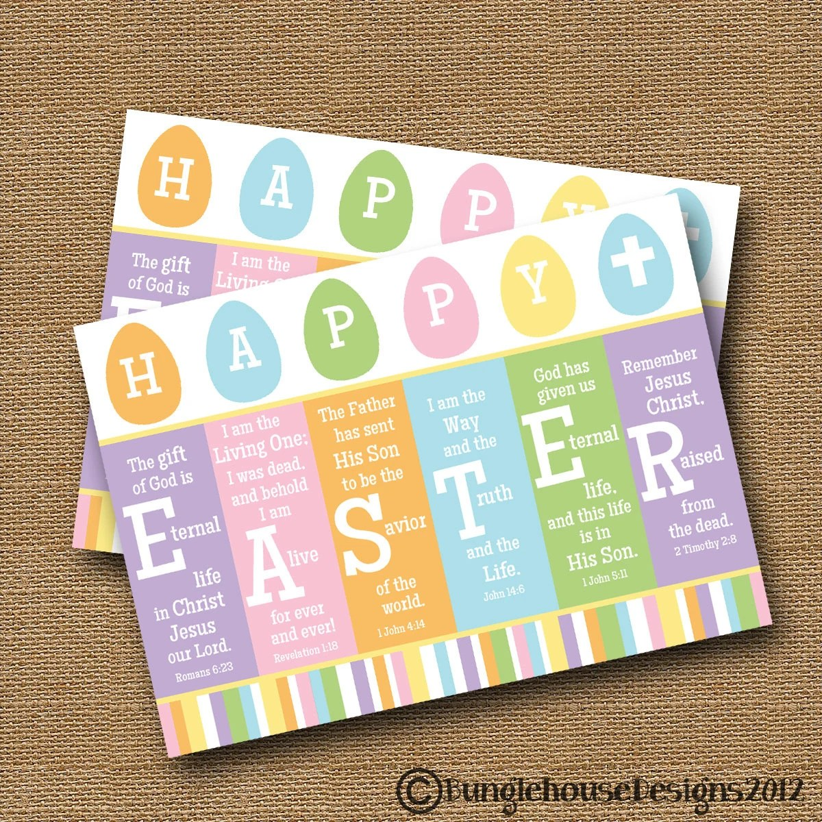 Scripture Easter Card Printable Easter Card Diy Printable