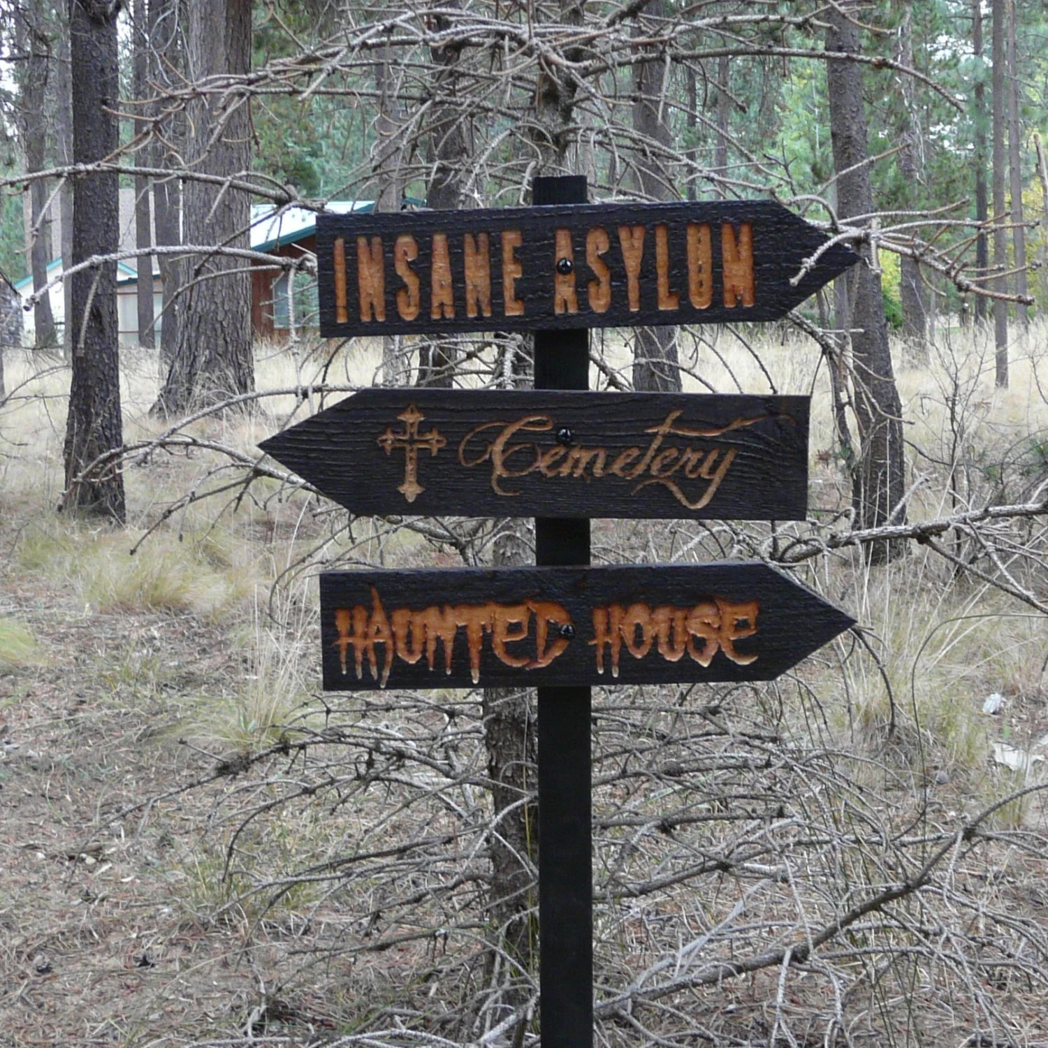 halloween sign post 3