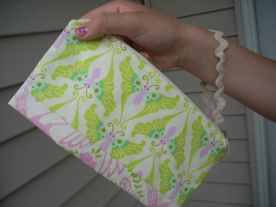 up parasol zippered clutch - FREE SHIPPING