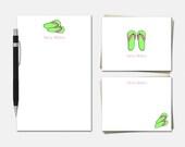Flip Flop Stationery - Pe...