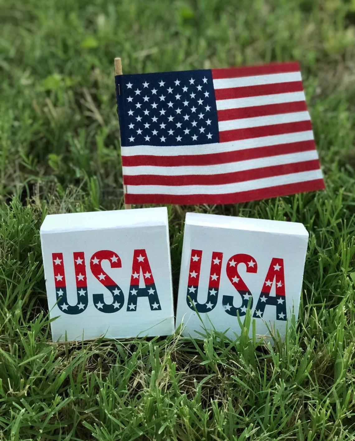 "USA - small 3.5""x3.5..."
