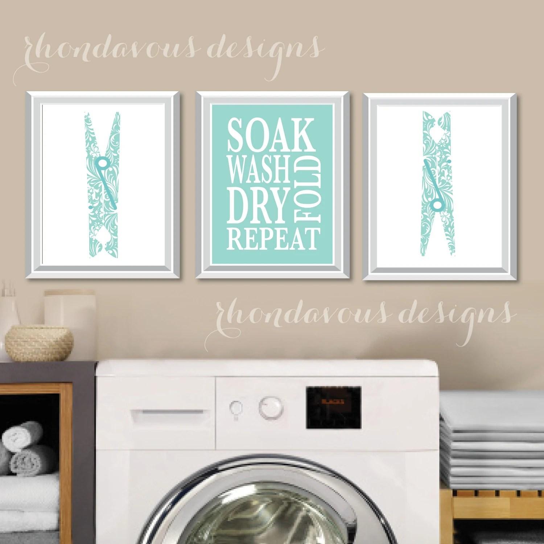 Laundry Room Art Print Laundry Room Sign Laundry Room on Laundry Decoration  id=17050