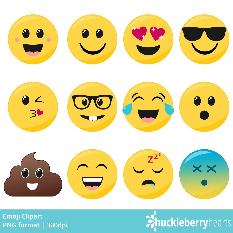 Emoji Clipart Smiley Face Clipart Faces Printable