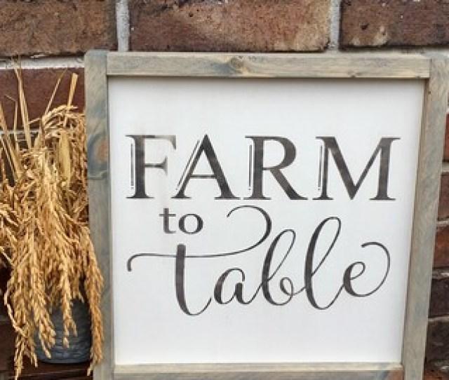 Rustic Farmhouse Style