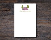 Personalized Camp Notepad...
