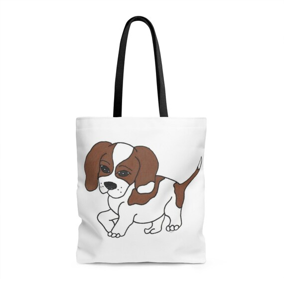 Beagle Dog Tote Bag - Perfect for Pet Parents!