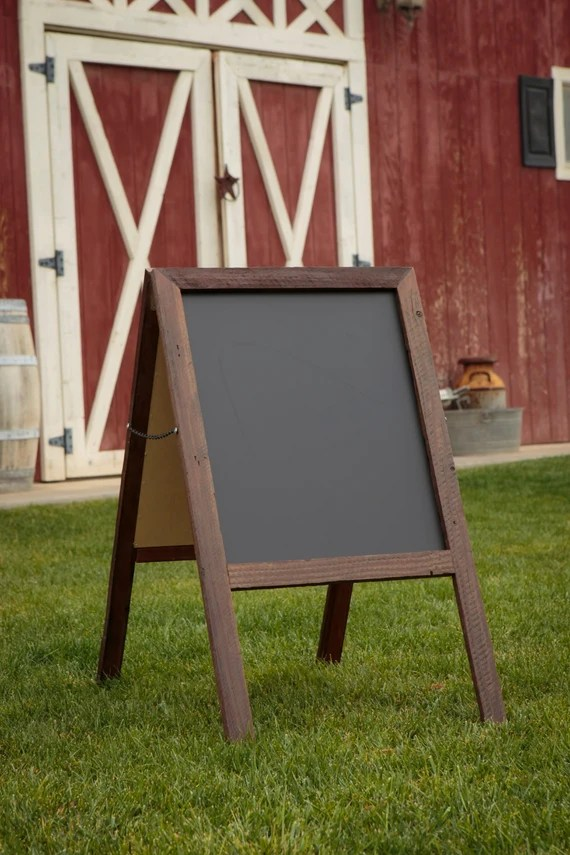 Folding Frame Sign for Craft Fairs