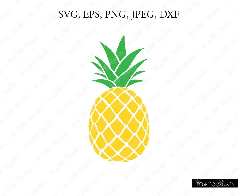 Download Pineapple SVG Pineapple Clipart Pineapple print SVG SVG