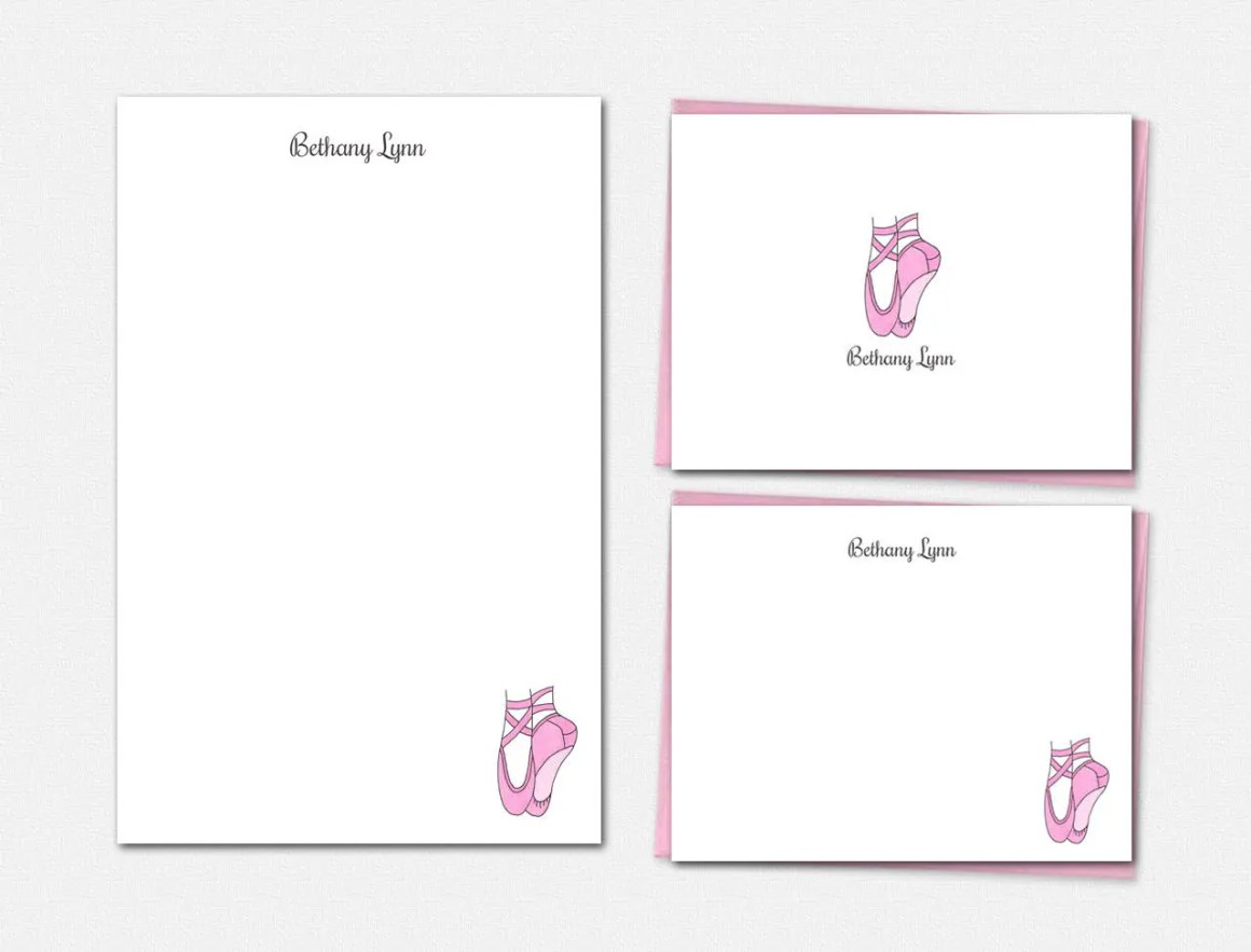 Personalized Stationery -...
