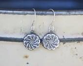 Handmade Fine Silver Earr...