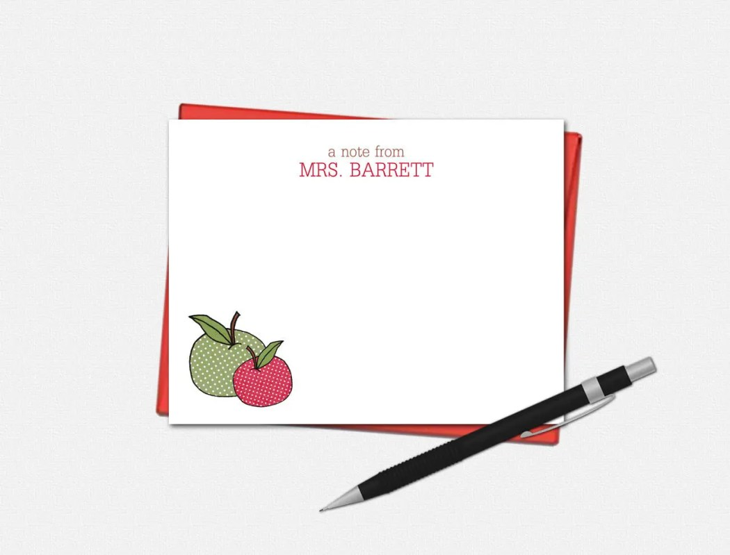 Personalized Apple Note C...