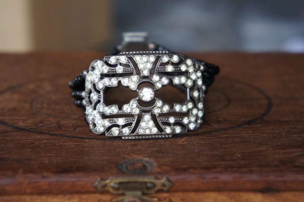 Antique Assemblage Bracel...