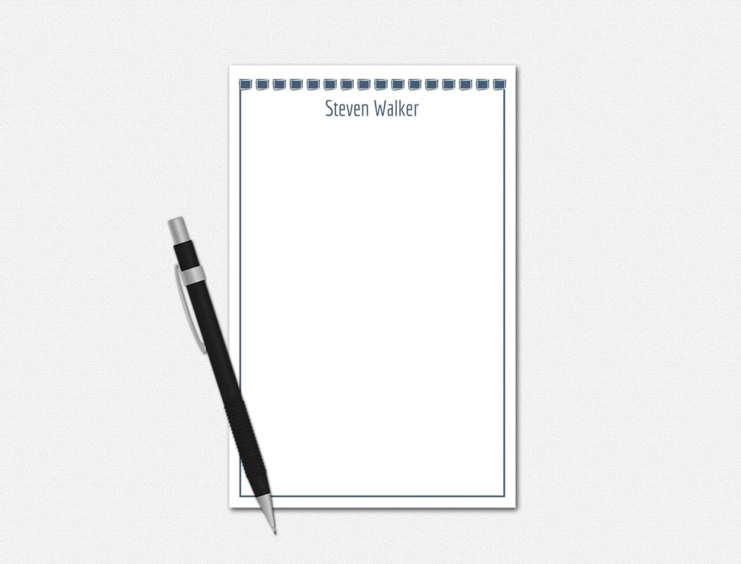 Personalized Notepad, Cus...