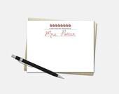 Custom Teacher Note Cards...
