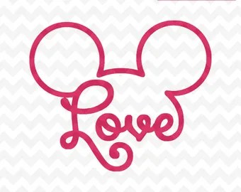 Download Love mickey mouse | Etsy