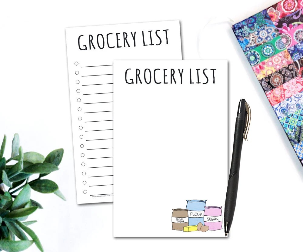 Grocery Shopping List - G...