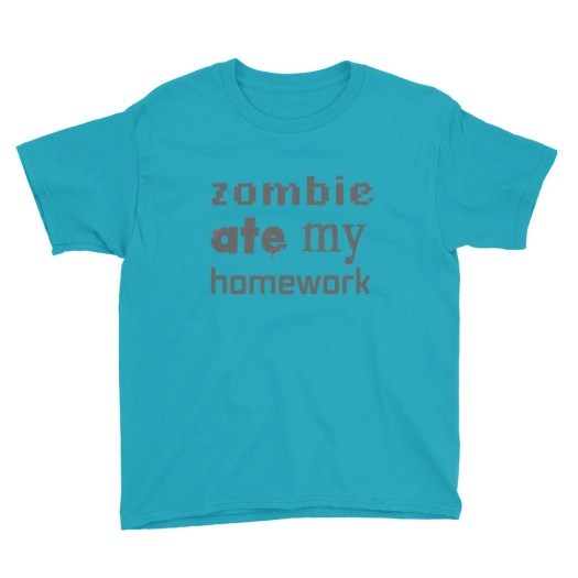 Minecraft t-shirt / a Zom...