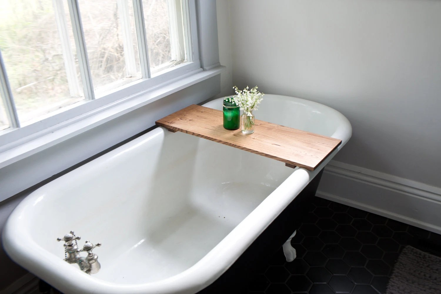Oak Bathtub Tray Caddy Wooden Bath Tub Caddy Wood Bathtub