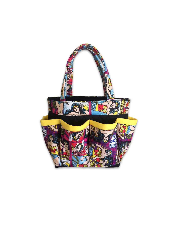 Wonder Woman Bingo Bag Craft Organizer Bridesmaid T